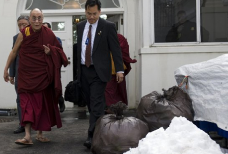 dalai lama poubelle