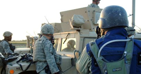 Avant l'Irak, les camps d'entraînement militaire pour journalistes