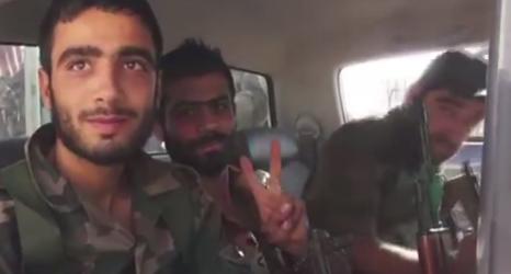 Communication opérationnelle iranienne en Syrie