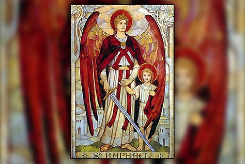saint raphael icone