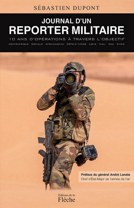 couverture-du-livre-journal-d-un-reporter-militaire-de-sébastien-dupont