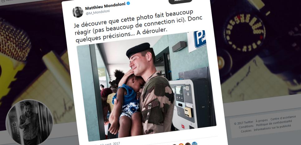 Irma, le soldat blanc, l'enfant noire et la propagande