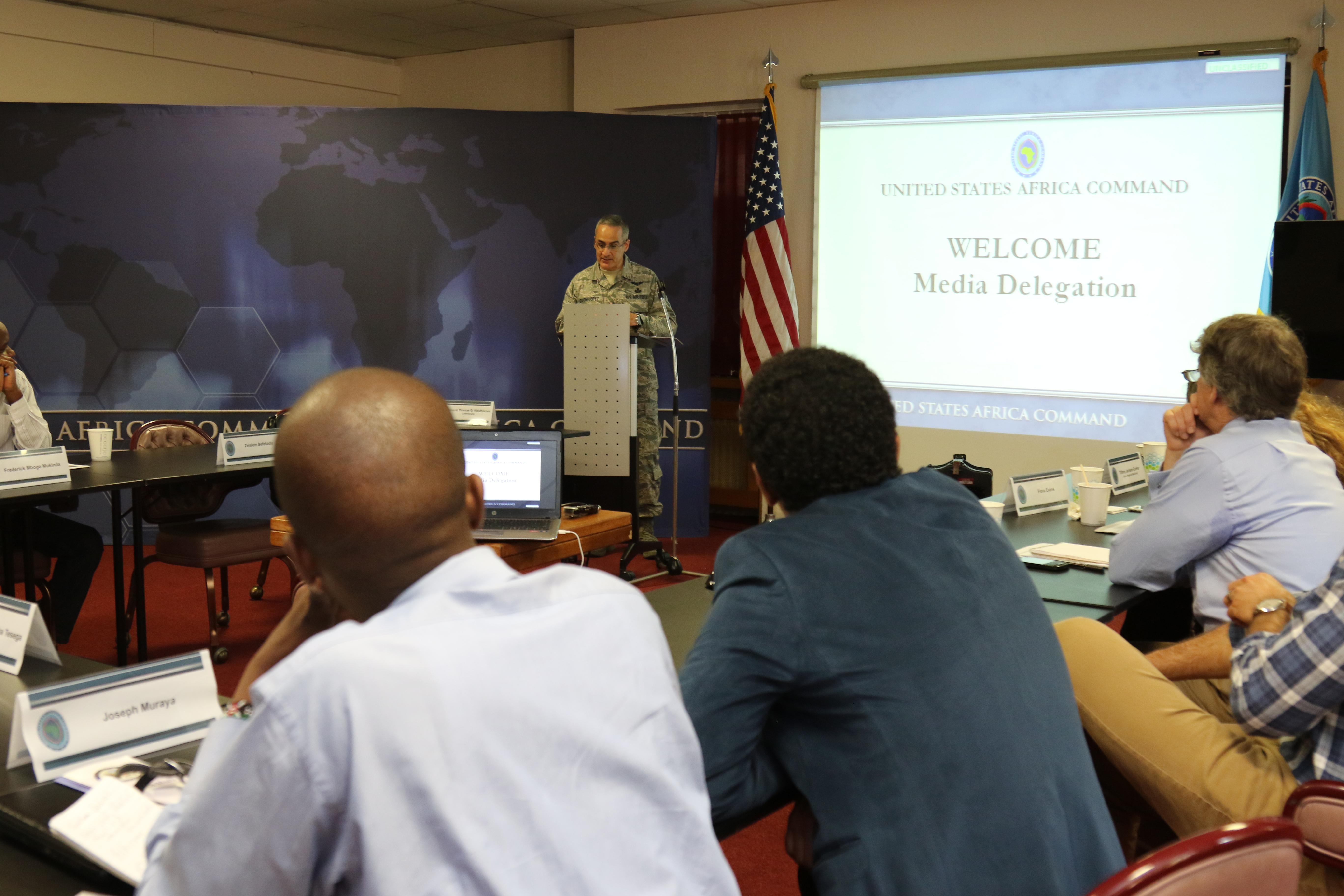 Les voyages de presse de l'Africom pour les reporters du Continent