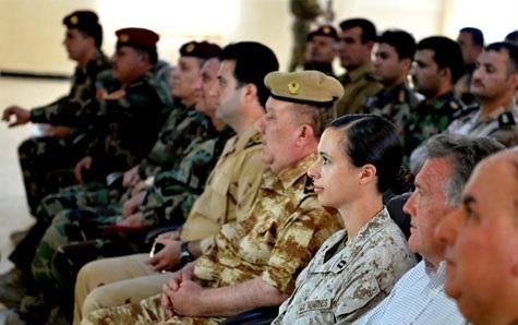 PsyOps mentoring au Kurdistan irakien